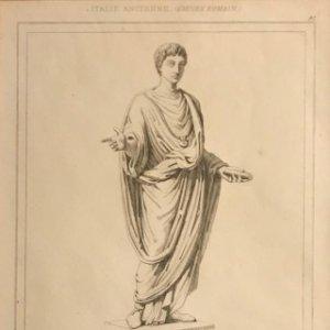 Italia. Anciano. Imperio romano 24x30 cm