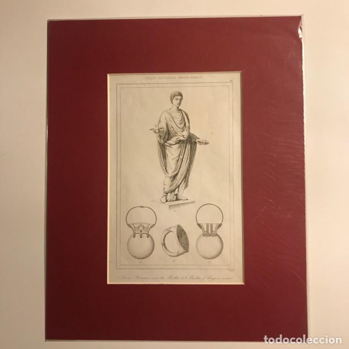 Arte: Italia. Anciano. Imperio romano 24x30 cm - Foto 2 - 152654074