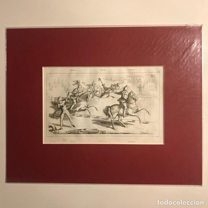 Arte: Italia. Torneo 24x30 cm - Foto 2 - 152654642