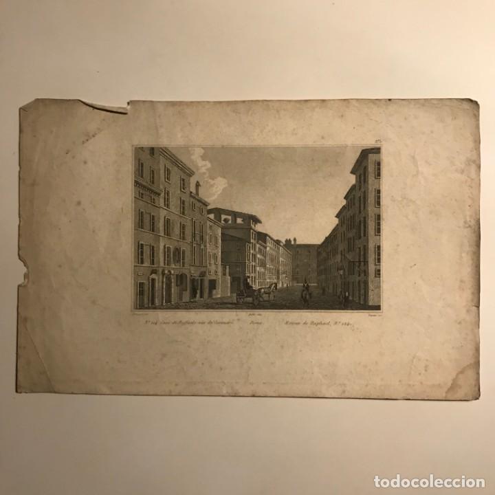 Arte: Italia. Roma. Casa di Raffaello, Via de Coronari 27,6x17,8 cm - Foto 2 - 152655034