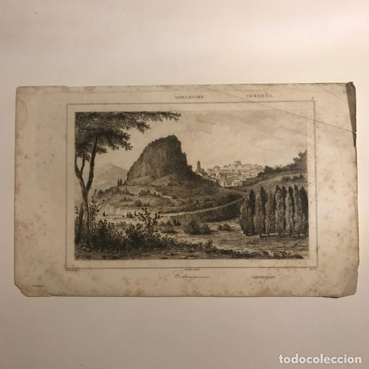 Arte: Italia. Cerdeña. Crodonohano 20,5x12,7 cm - Foto 2 - 152655502