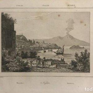 Italia. Nápoles 13,1x20,5 cm