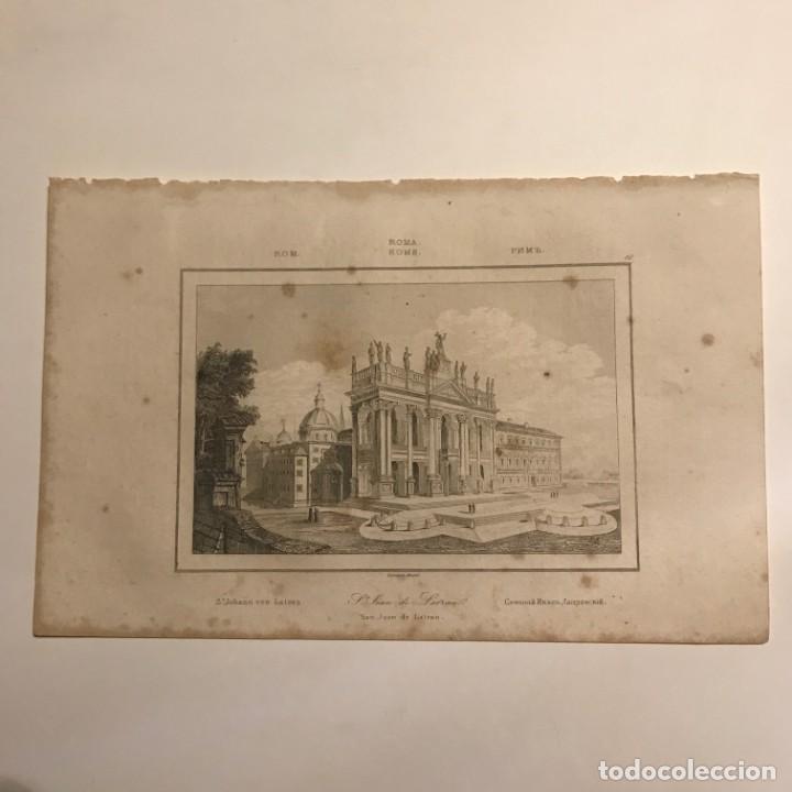Arte: Italia. Roma. San Juan de Latran 13,2x20,6 cm - Foto 2 - 152657118