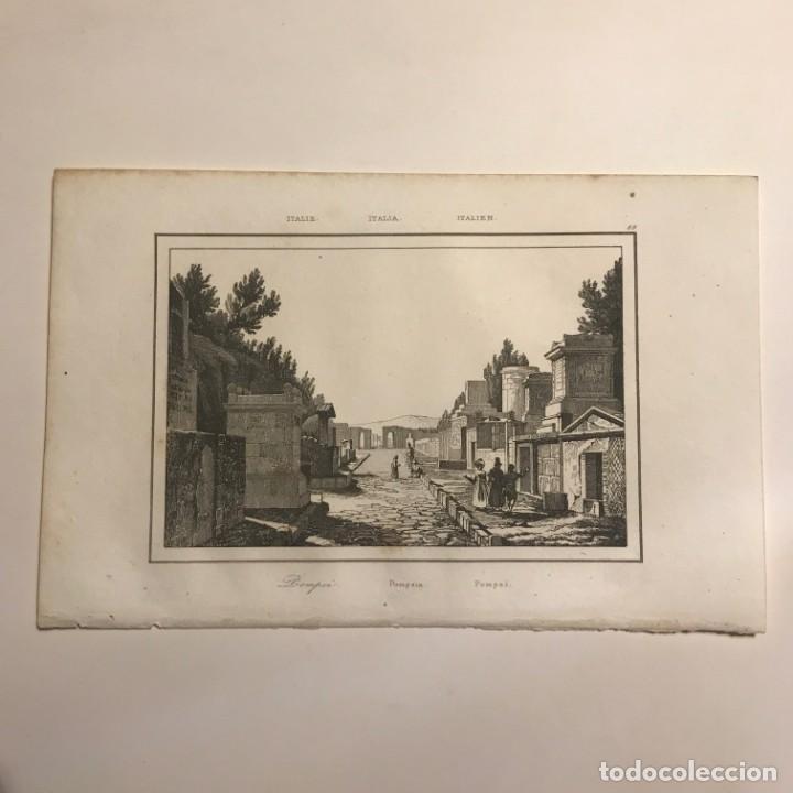 Arte: Italia. Pompeia 13,2x20,5 cm - Foto 2 - 152657418