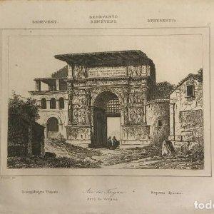 Italia. Benevento. Arco de Trajano 13,2x20,5 cm