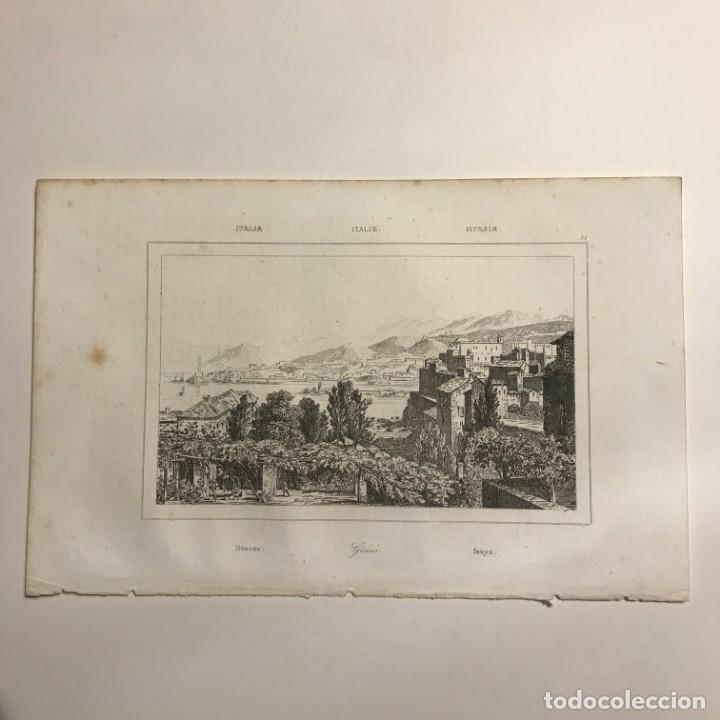 Arte: Italia. Genova 13,2x20,5 cm - Foto 2 - 152658350