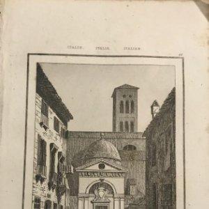 Italia. Sepulcro del Dante en Ravenna13,2x20,5 cm
