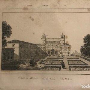 Italia. Sitio de los Medicis 13,2x20,5 cm