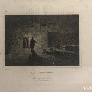 Italia. Roma. Cárcel Mamertina 24,4x15,7 cm