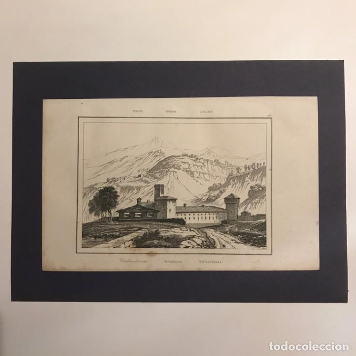 Arte: Italia. Vallombrosa 25x18 cm - Foto 2 - 152659754