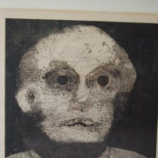 Arte: FRANCISCO PEINADO. MÁLAGA 1941. GRABADO EXTRAORDINARIO DE 64X49 PAPEL 76X57 FIRMADO LÁPIZ. PA. 1973,. Lote 105085315