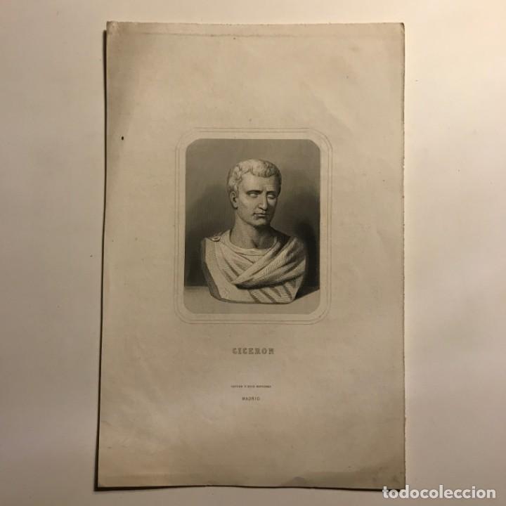 Arte: Ciceron. Gaspar y Roig Editores. Madrid 26,6x17,2 cm - Foto 2 - 149257202