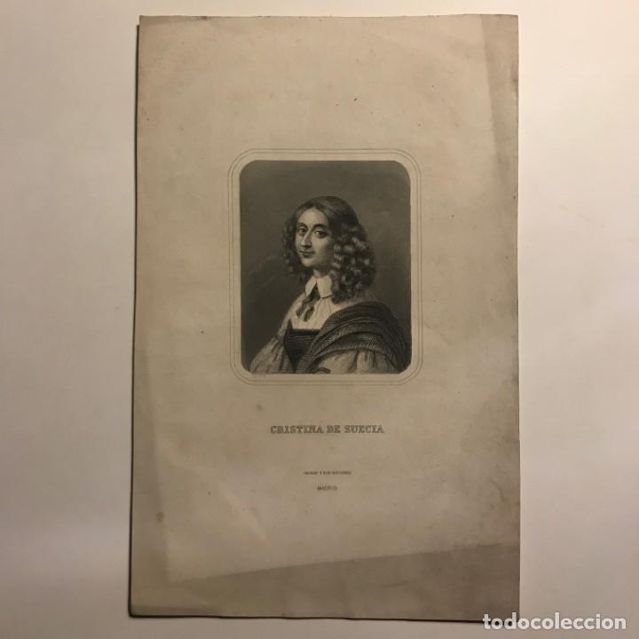 Arte: Cristina de Suecia. Gaspar y Roig Editores. Madrid 27,5x17,7 cm - Foto 2 - 149258006