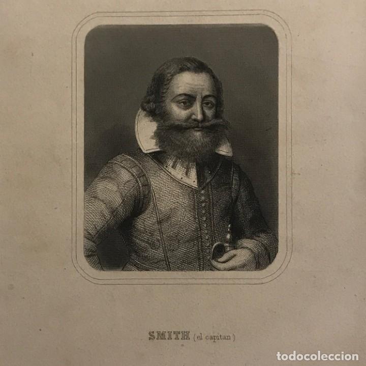 A EDWARD J. SMITH (EL CAPITAN) (1850-1912) GASPAR Y ROIG EDITORES. MADRID 27,5X17,4 CM (Arte - Grabados - Modernos siglo XIX)