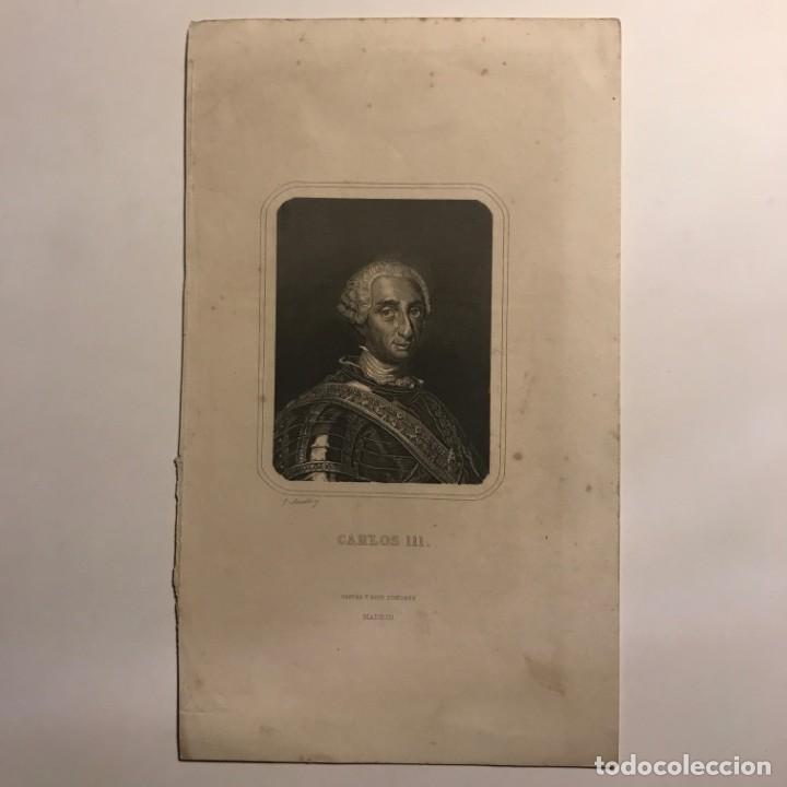 Arte: Carlos III de España (1716-1788) Gaspar y Roig Editores. Madrid 26x15,5 cm - Foto 2 - 149258518
