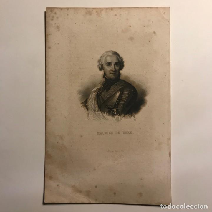 Arte: Maurice de Saxe. Gaspar y Roig Editores. Madrid 24,8x16 cm - Foto 2 - 149258766