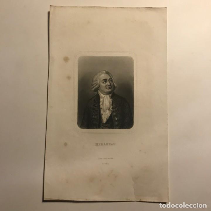 Arte: Honore Mirabeau nacido como Gabriel Riqueti. Gaspar y Roig Editores. Madrid 27,4x17 cm - Foto 2 - 149259542