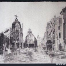 Arte: AMALGAMA GRÁFICA CONTEMPORÁNEA 2018. RAMÓN J. FREIRE SANTA CRUZ. FOTOPOLÍMERO. Lote 154103714