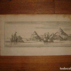Arte: GRABADO DE CEUTA, ORIGINAL, AMBERES, 1670, BOUTTATS/PEETERS, BUEN ESTADO. Lote 154179866