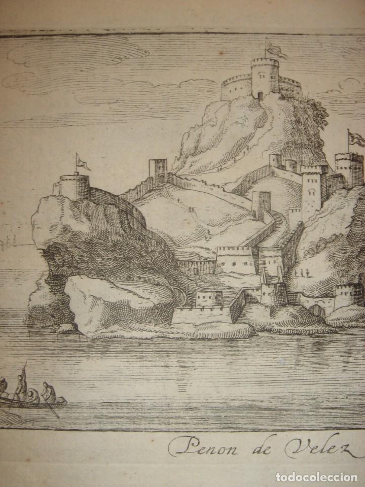 Arte: GRABADO PEÑÓN DE VELEZ DE LA GOMERA, ORIGINAL, AMBERES, 1670, BOUTTATS/PEETERS, BUEN ESTADO - Foto 4 - 154180174