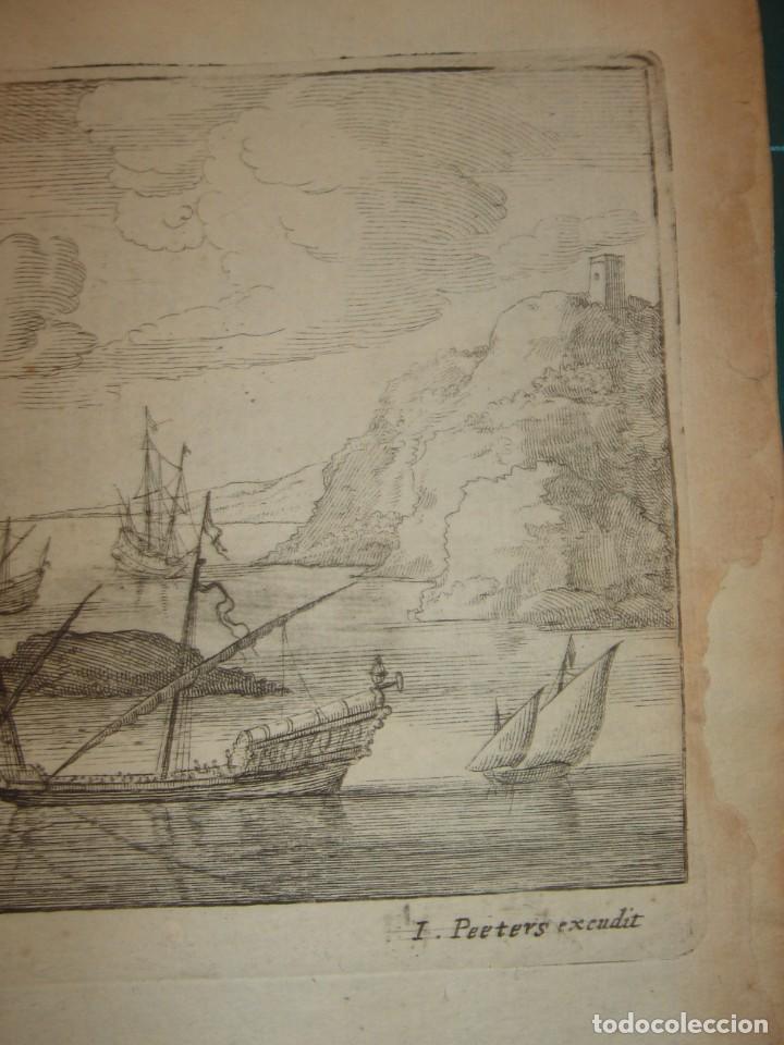Arte: GRABADO PEÑÓN DE VELEZ DE LA GOMERA, ORIGINAL, AMBERES, 1670, BOUTTATS/PEETERS, BUEN ESTADO - Foto 6 - 154180174
