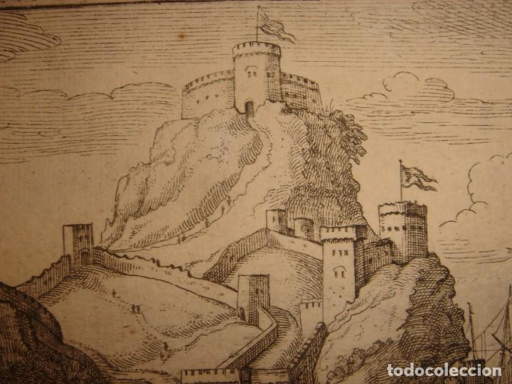 Arte: GRABADO PEÑÓN DE VELEZ DE LA GOMERA, ORIGINAL, AMBERES, 1670, BOUTTATS/PEETERS, BUEN ESTADO - Foto 9 - 154180174