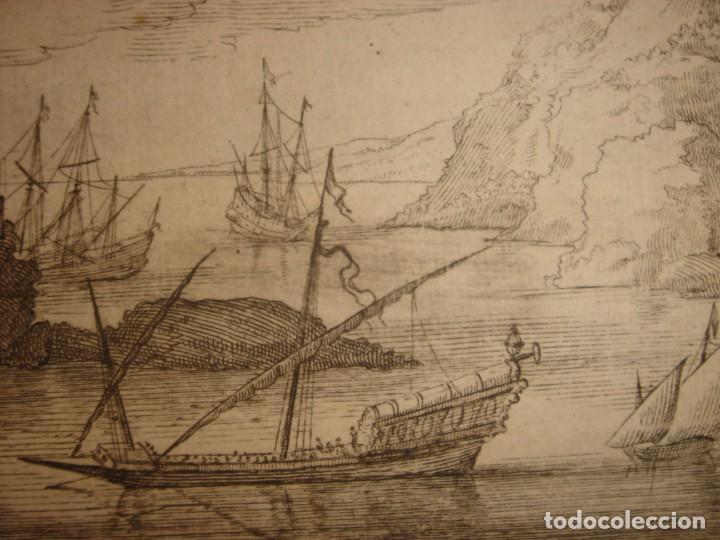 Arte: GRABADO PEÑÓN DE VELEZ DE LA GOMERA, ORIGINAL, AMBERES, 1670, BOUTTATS/PEETERS, BUEN ESTADO - Foto 10 - 154180174