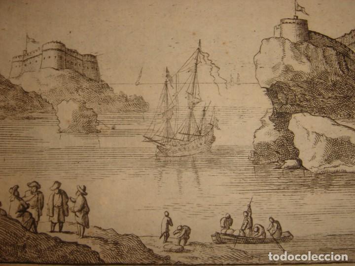 Arte: GRABADO PEÑÓN DE VELEZ DE LA GOMERA, ORIGINAL, AMBERES, 1670, BOUTTATS/PEETERS, BUEN ESTADO - Foto 11 - 154180174