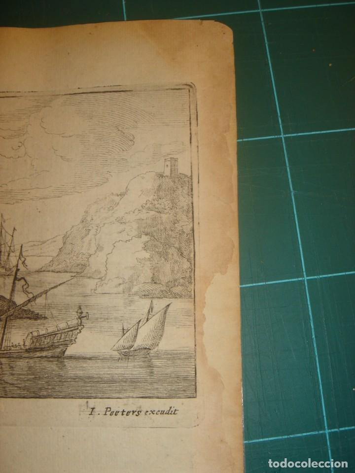 Arte: GRABADO PEÑÓN DE VELEZ DE LA GOMERA, ORIGINAL, AMBERES, 1670, BOUTTATS/PEETERS, BUEN ESTADO - Foto 12 - 154180174