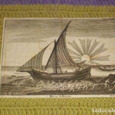Arte: GRABADO - BARCA DE PESCADOR -. Lote 154514274