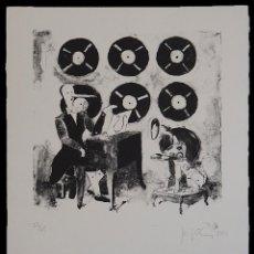 Arte: JENIFER CAREY PARA SIGFRIDISMOS LITOGRAFÍA A UNA TINTA. 2012. Lote 154617626