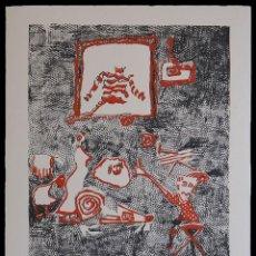 Arte: RAQUEL DE PRADA PARA SIGFRIDISMOS. SERIGRAFIA A DOS TINTAS. 2012. Lote 154622222