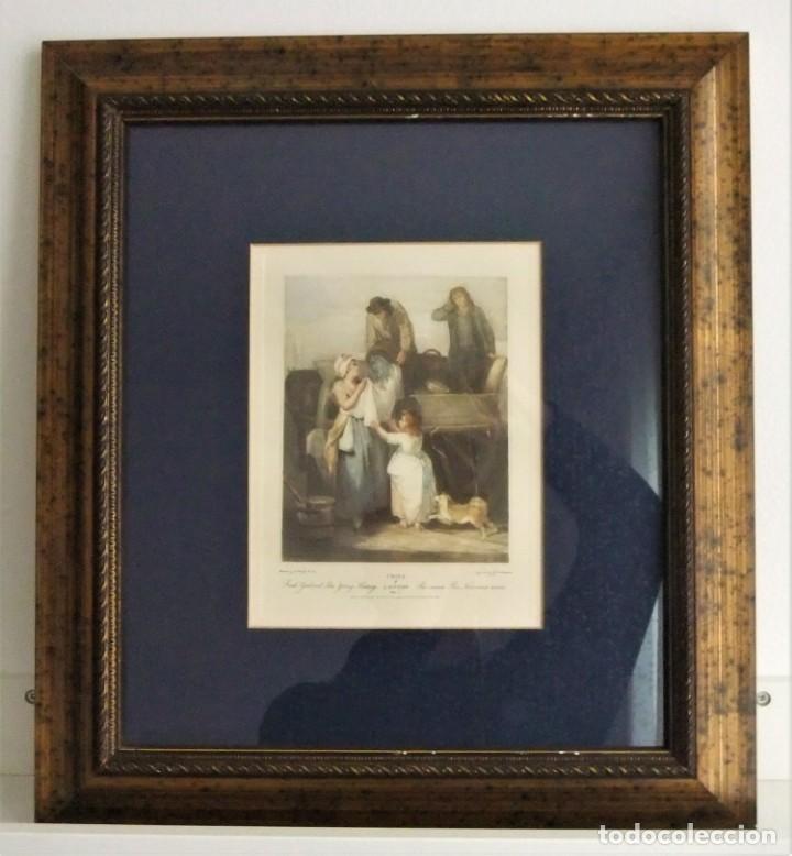 GRABADO DE LA SERIE CRIES OF LONDON DE F.WHEATLEY R.A. (Arte - Grabados - Contemporáneos siglo XX)