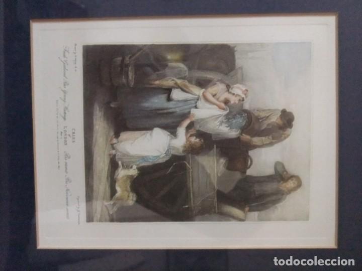 Arte: GRABADO DE LA SERIE CRIES OF LONDON DE F.WHEATLEY R.A. - Foto 4 - 154693314
