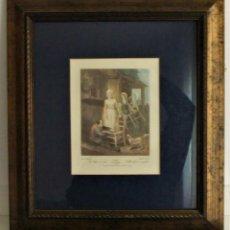 Arte: GRABADO DE LA SERIE CRIES OF LONDON DE F.WHEATLEY R.A.. Lote 154694038