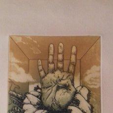 Arte: GRABADO VICENTE ARNAS (1949-) NUMERADO 78/175 Y FIRMADO V. ARNAS. MIDE: 17 CM X 12,5 CM. Lote 154712170