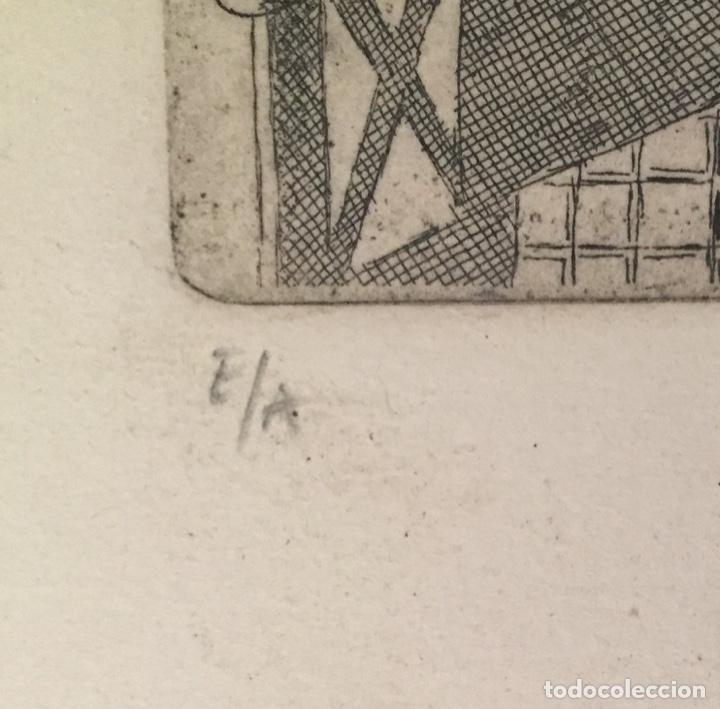 Kunst: PICASSO - GRABADO ORIGINAL FIRMADO A MANO - RETRATO DE DORA MAAR - PRUEBA DE ARTISTA - 40 x 35 cm. - Foto 7 - 154796214