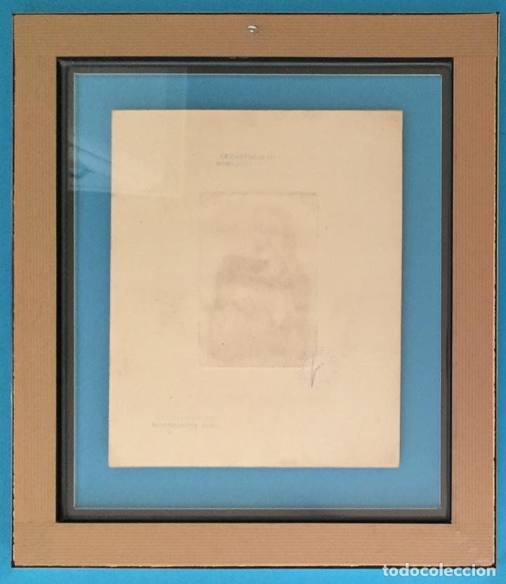 Kunst: PICASSO - GRABADO ORIGINAL FIRMADO A MANO - RETRATO DE DORA MAAR - PRUEBA DE ARTISTA - 40 x 35 cm. - Foto 8 - 154796214