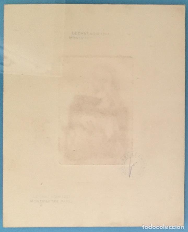 Kunst: PICASSO - GRABADO ORIGINAL FIRMADO A MANO - RETRATO DE DORA MAAR - PRUEBA DE ARTISTA - 40 x 35 cm. - Foto 9 - 154796214
