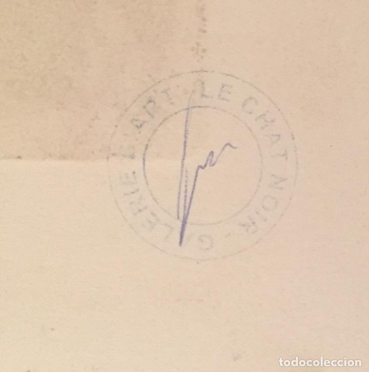 Kunst: PICASSO - GRABADO ORIGINAL FIRMADO A MANO - RETRATO DE DORA MAAR - PRUEBA DE ARTISTA - 40 x 35 cm. - Foto 11 - 154796214