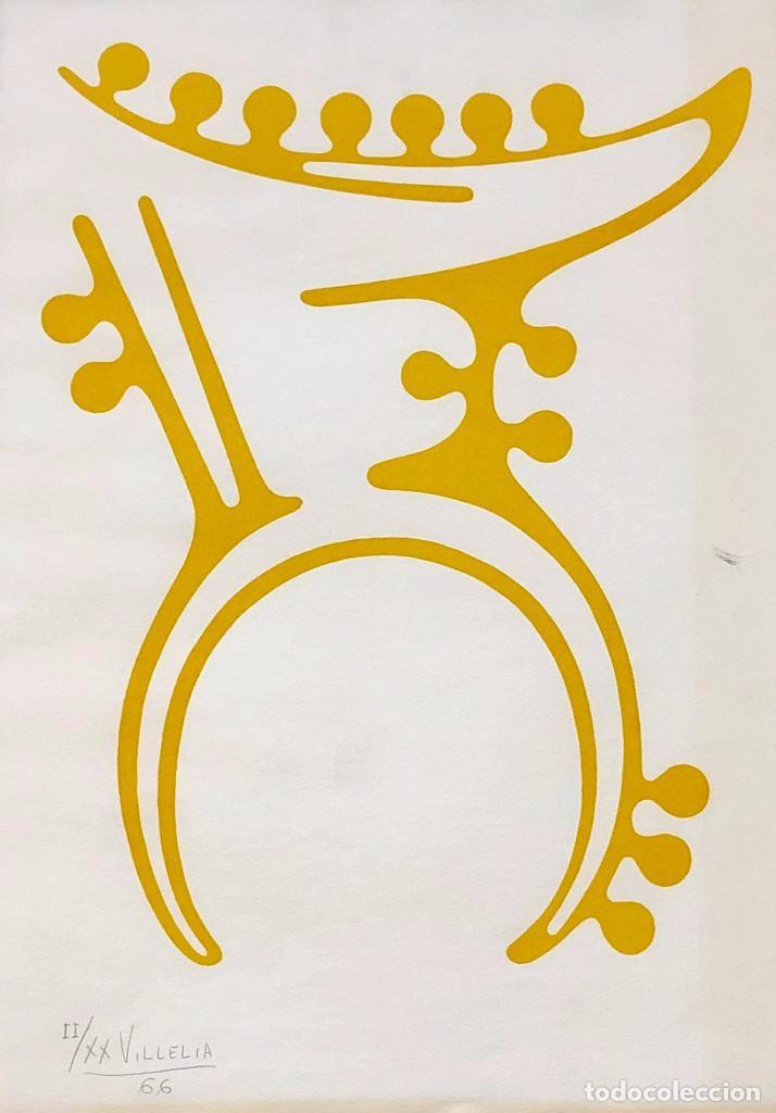 MOISÈS VILLÈLIA - LINÓLEO - FIRMADO (Arte - Grabados - Contemporáneos siglo XX)