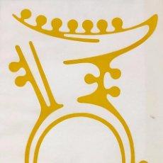 Arte: MOISÈS VILLÈLIA - LINÓLEO - FIRMADO. Lote 154916286