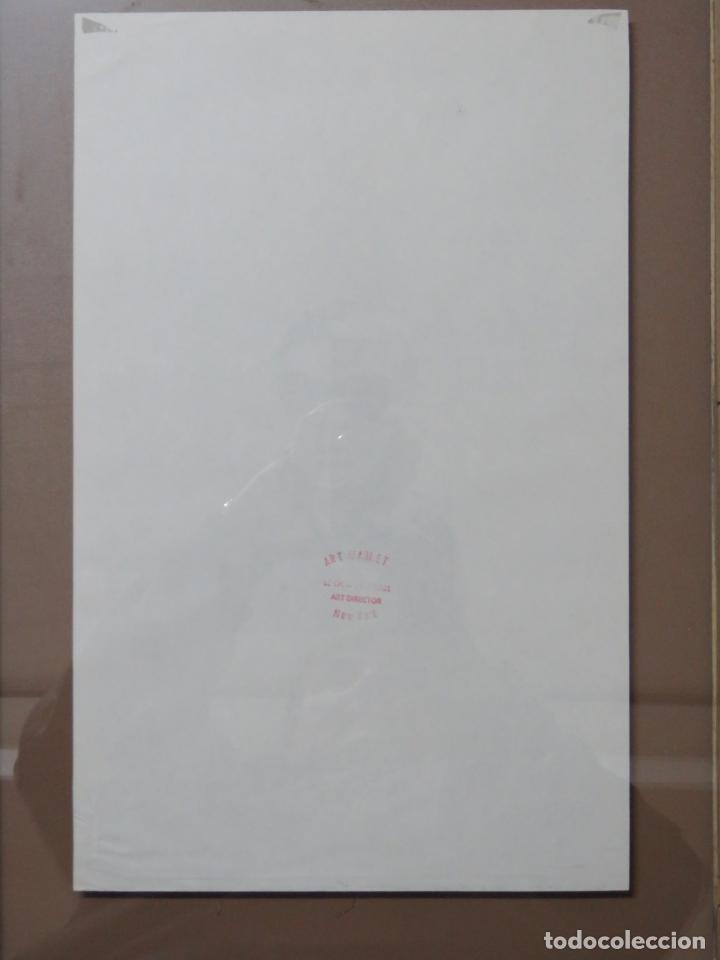 Arte: ANDY WARHOL GRABADO ORIGINAL FIRMADO A LAPIZ Y NUMERADO:AP-06/10,PRIMER AUTORETRATO 1963/64,59x43 CM - Foto 7 - 130160243