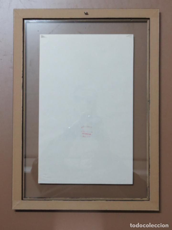 Arte: ANDY WARHOL GRABADO ORIGINAL FIRMADO A LAPIZ Y NUMERADO:AP-06/10,PRIMER AUTORETRATO 1963/64,59x43 CM - Foto 5 - 130160243