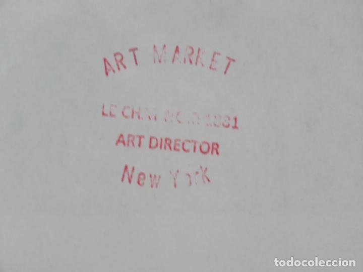 Arte: ANDY WARHOL GRABADO ORIGINAL FIRMADO A LAPIZ Y NUMERADO:AP-06/10,PRIMER AUTORETRATO 1963/64,59x43 CM - Foto 6 - 130160243