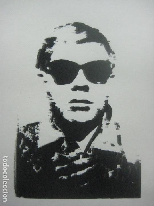 Arte: ANDY WARHOL GRABADO ORIGINAL FIRMADO A LAPIZ Y NUMERADO:AP-06/10,PRIMER AUTORETRATO 1963/64,59x43 CM - Foto 4 - 130160243