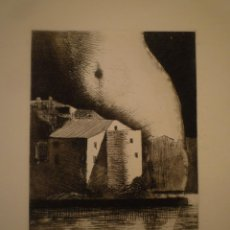 Arte: GRABADO. MARC ALEU. FIRMADO. P/A. 34'5 X 25'5 CM.. Lote 155578622