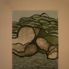 Arte: NORMAN NAROTZKY. GRABADO FIRMADO Y NUMERADO. 43/125. 34 X 26 CM.. Lote 155579006