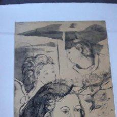 Arte: GRABADO DE MARIA A. RAVENTOS.. Lote 155814558