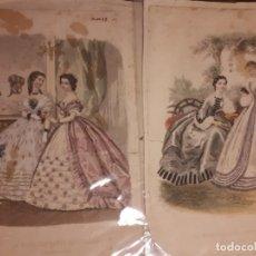 Arte: GRABADO. LA MODA ELEGANTE ILUSTRADA. CÁDIZ.. Lote 155844162